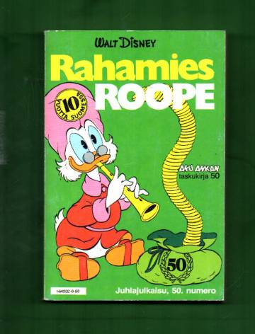 Aku Ankan taskukirja 50 - Rahamies Roope
