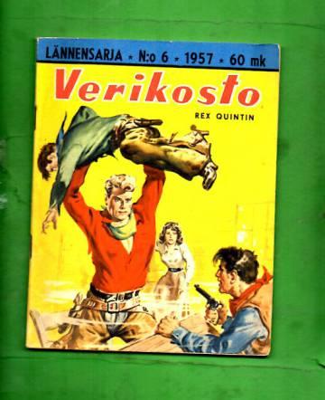 Lännensarja 6/57 - Verikosto