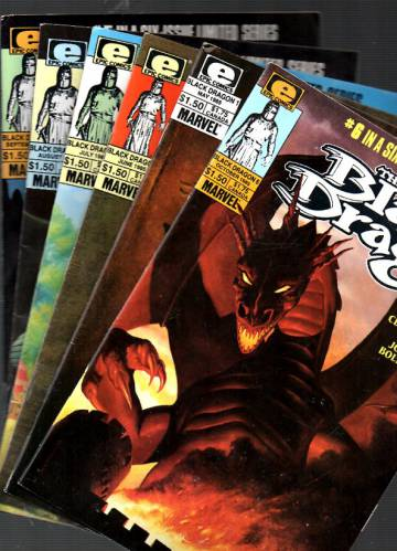 The Black Dragon Vol 1 #1-6 May-Oct 85 (Whole miniserie)