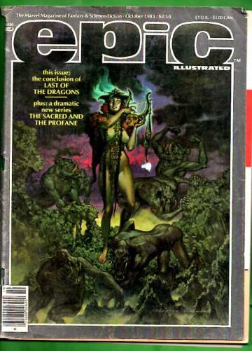 Epic Illustrated Vol 1 #20 Oct 83