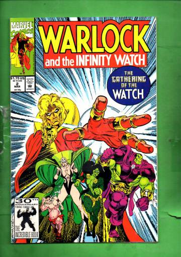 Warlock and the Infinity Watch Vol. 1 #2 Mar 92