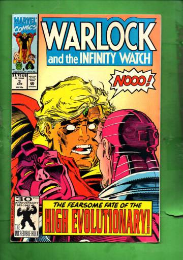 Warlock and the Infinity Watch Vol. 1 #3 Apr 92