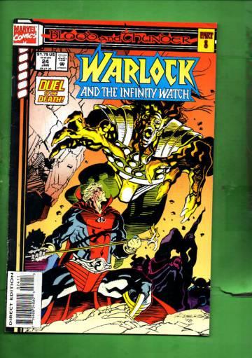 Warlock and the Infinity Watch Vol. 1 #24 Jan 94