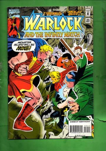 Warlock and the Infinity Watch Vol. 1 #35 Dec 94