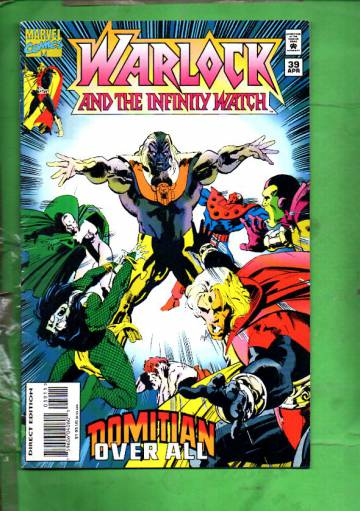 Warlock and the Infinity Watch Vol. 1 #39 Apr 95