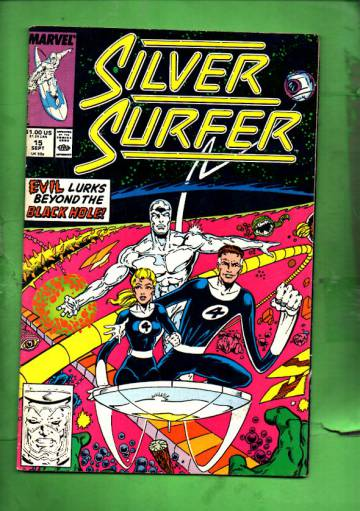 Silver Surfer Vol. 3 #15 Sep 88