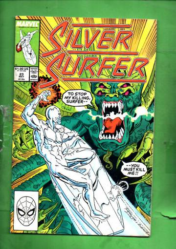 Silver Surfer Vol. 3 #23 May 89