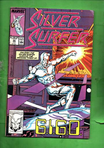 Silver Surfer Vol. 3 #24 Jun 89