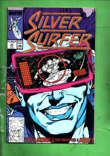 Silver Surfer Vol. 3 #26 Aug 89