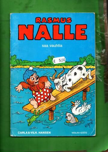 Rasmus Nalle saa vauhtia
