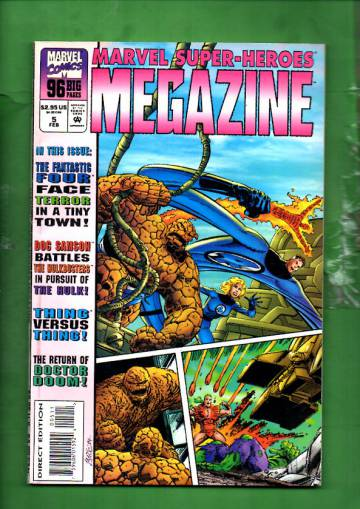 Marvel Super-Heroes Megazine Vol 1 #5 Feb 95