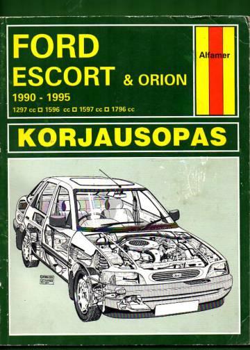 Ford Escort & Orion 1990-1995 korjausopas