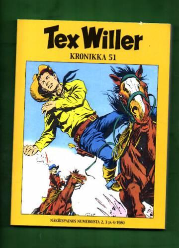 Tex Willer -kronikka 51 - Laidunsota & Viidakon murhenäytelmä