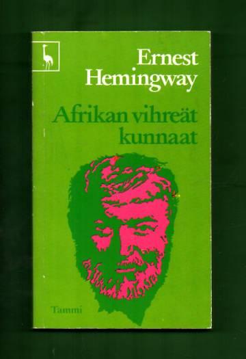Afrikan vihreät kunnaat
