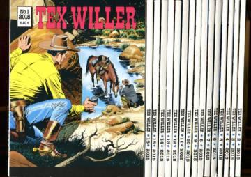 Tex Willer - vuosikerta 2015 (1-16)