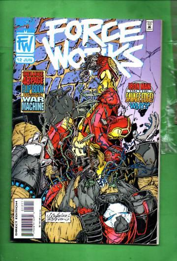 Force Works Vol. 1 #12 Jun 95