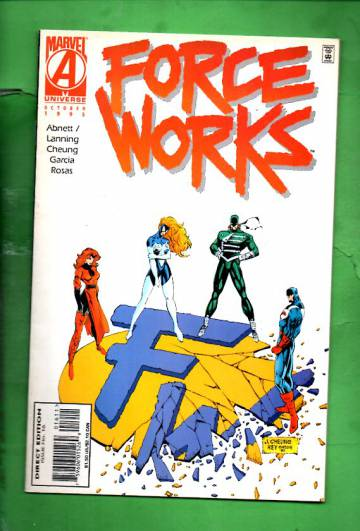 Force Works Vol. 1 #16 Oct 95