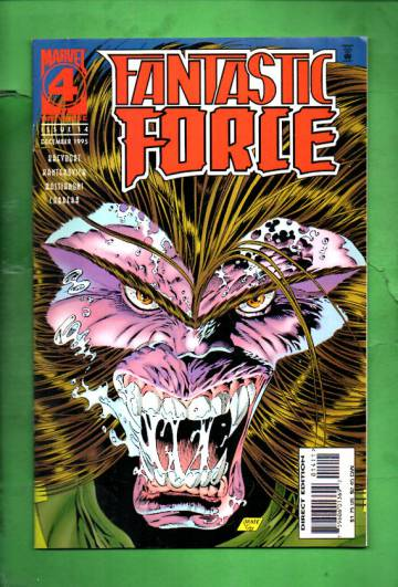 Fantastic Force Vol. 1 #14 Dec 95