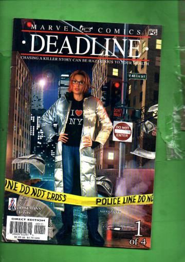 Deadline Vol. 1 #1 Jun 02