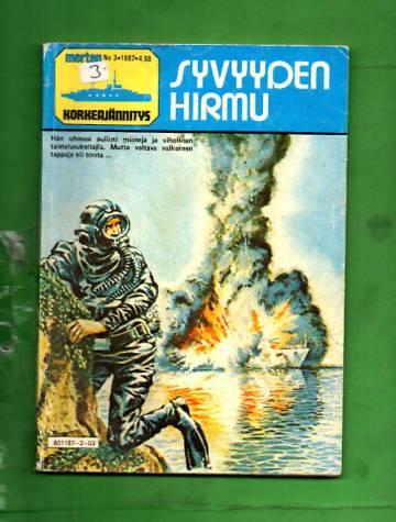 Merten Korkeajännitys 3/82 - Syvyyden hirmu