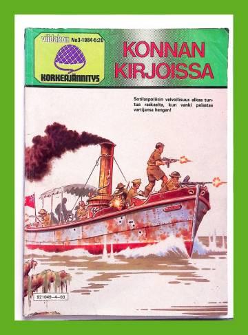 Viidakon Korkeajännitys 3/84 - Konnan kirjoissa