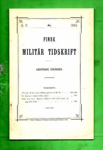 Finsk Militär Tidskrift - Maj 1899