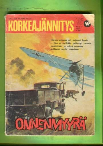 Korkeajännitys 17/74 - Onnenmyyrä