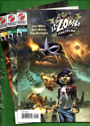 El Zombo Fantasma #1 Apr - #3 Jun 04 (whole mini-series)