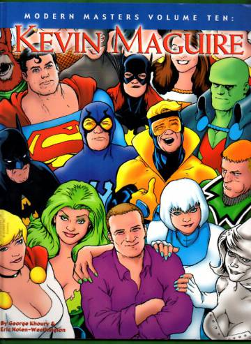 Modern Masters Volume 10: Kevin Maguire