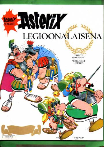 Asterix 3 - Asterix legioonalaisena