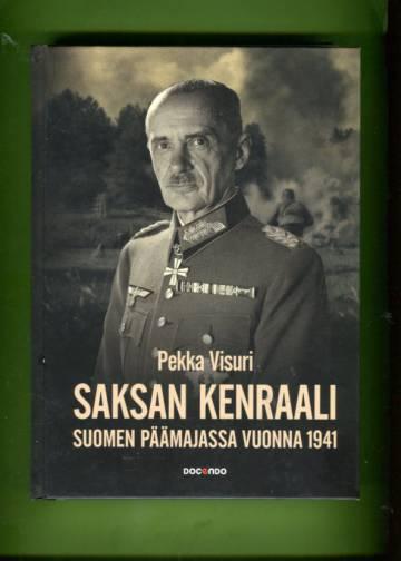 Saksan kenraali Suomen päämajassa 1941