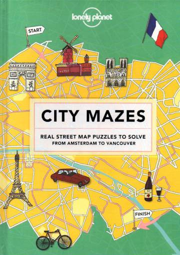 City Mazes - Real street map puzzles to solve from Amsterdam to Vancouver