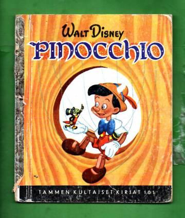 Tammen kultaiset kirjat 101 - Pinocchio: Mukaelma C. Collodin tarinasta