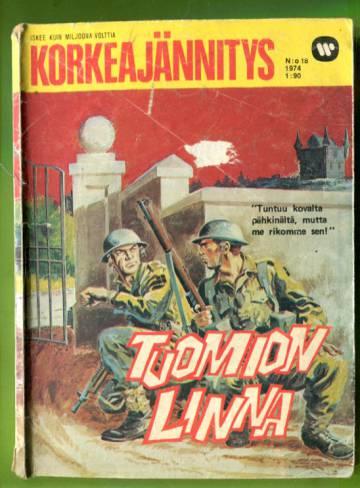 Korkeajännitys 18/74 - Tuomion linna