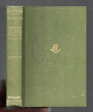 Demosthenes I - Olynthiacs, Philippics, Minor Public Speeches, Speech Against Leptines I-XVII, XX