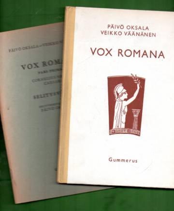 Vox Romana - Pars prima: Cornelius Nepos & Caesar - Sanasto ja selitykset & Selitysvihko