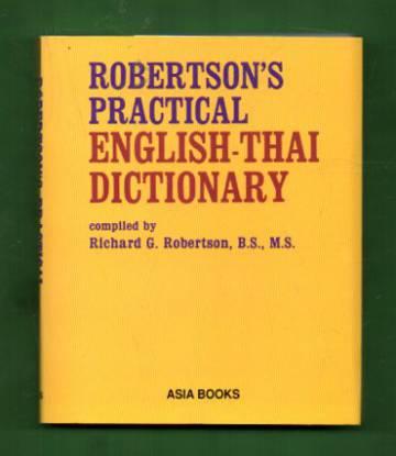 Robertson's Practical English-Thai Dictionary
