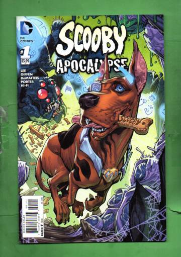 Scooby Apocalypse #1 Jul 16
