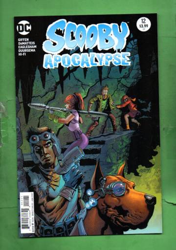 Scooby Apocalypse #12 Jun 17