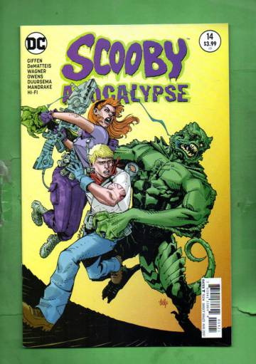 Scooby Apocalypse #14 Aug 17