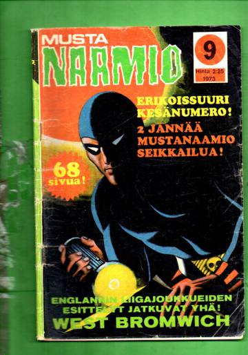 Mustanaamio 9/73