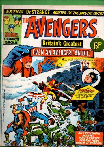 Avengers #11 Dec 73