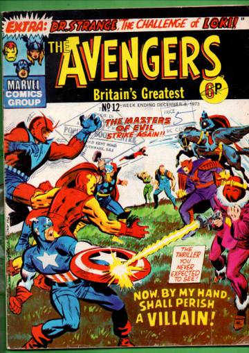 Avengers #12 Dec 73