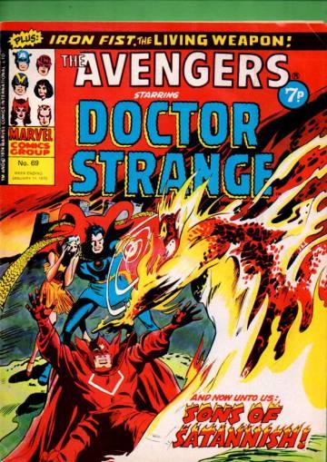 Avengers #69 Jan 75