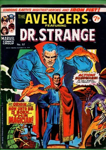 Avengers #57 Oct 74