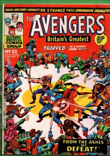 Avengers #21 Feb 74