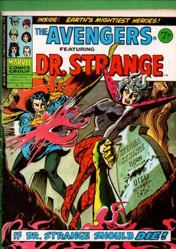 Avengers #72 Feb 75