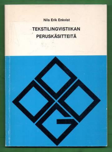 Tekstilingvistiikan peruskäsitteitä