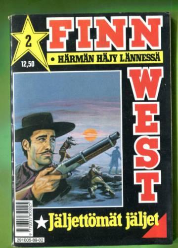 Finn West 2/89 - Jäljettömät jäljet