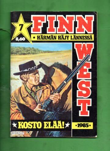 Finn West 7/85 - Kosto elää!